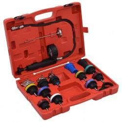 stradeXL 18-częściowy tester ciśnienia i temperatury systemu chłodzenia