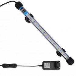 Lampa LED do akwarium, 28 cm, biała