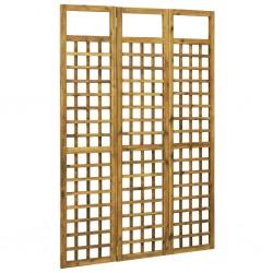 stradeXL 3-panelowy parawan pokojowy/trejaż, drewno akacjowe, 120x170 cm