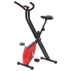 stradeXL Rowerek do ćwiczeń X-Bike, pasek oporowy, czerwony