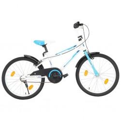 stradeXL Rower dla dzieci, 20 cali, niebiesko-biały