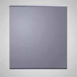 Roleta okienna zaciemniająca szara 160 x 175 cm