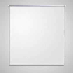 Roleta przeciwsłoneczna 100 x 230 cm biała