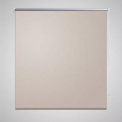 Roleta okienna zaciemniająca beżowa 160 x 230 cm