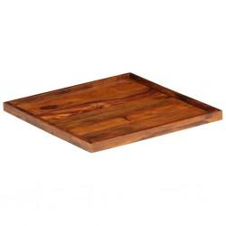 stradeXL Taca z litego drewna sheesham, 50 x 50 cm