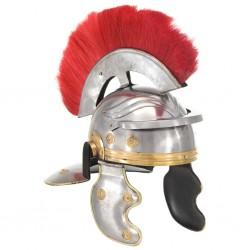 stradeXL Replika zabytkowego hełmu rzymskiego, LARP, srebrna stal