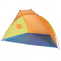 HI Namiot plażowy, wielokolorowy, 220x115x115 cm