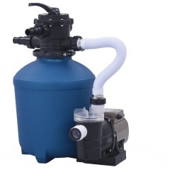 stradeXL Sand Filter Pump with Timer 530 W 10980 L/h