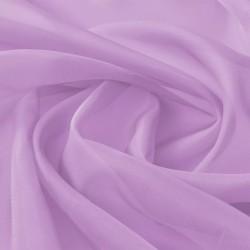 stradeXL Tkanina woal 1,45 x 20 m, kolor liliowy