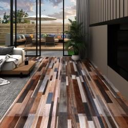 stradeXL Panele podłogowe PVC, 5,02m², 2mm, samoprzylepne, wielokolorowe