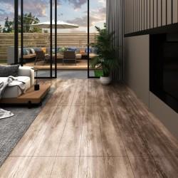 stradeXL Panele podłogowe PVC, 5,02m², 2mm, samoprzylepne, przecierane