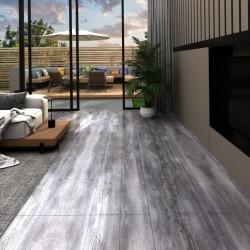stradeXL Panele podłogowe PVC, 5,02m², 2mm, samoprzylepne, matowy szary