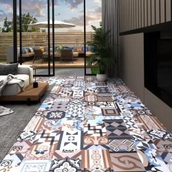 stradeXL Panel podłogowy PVC samoprzylepny, 5,11 m², wzór mono