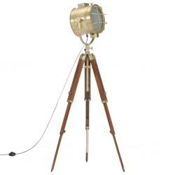 stradeXL Lampa podłogowa na trójnogu, lite drewno mango, 165 cm