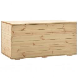 stradeXL Skrzynia, 120x63x50,7 cm, lite drewno sosnowe