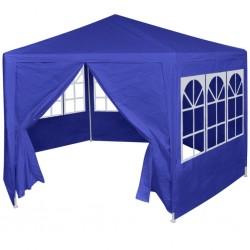 stradeXL Namiot ogrodowy z 6 panelami bocznymi, 2x2 m, niebieski