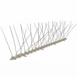 stradeXL Kolce przeciw ptakom, 4 rzędy, plastikowe, 6 szt., 3 m