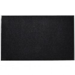 stradeXL Door Mat 90 x 60 cm Black PVC