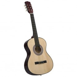 stradeXL Classical Acoustic Guitar for Beginner 4/4 39 Basswood