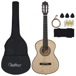 stradeXL 8 Piece Classical Acoustic Guitar Children Beginner Set 1/2 34