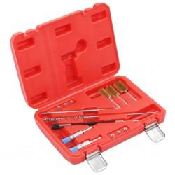 stradeXL 14-częściowy zestaw narzędzi do czyszczenia wtrysków