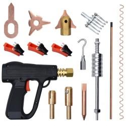 stradeXL 86-elementowy zestaw do usuwania wgnieceń z pistoletem