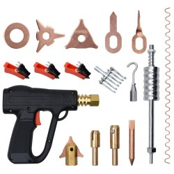 stradeXL 66-elementowy zestaw do usuwania wgnieceń z pistoletem