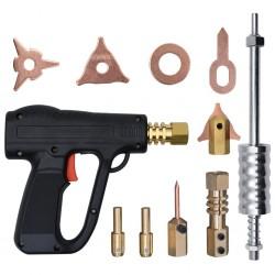 stradeXL 20-elementowy zestaw do usuwania wgnieceń z pistoletem