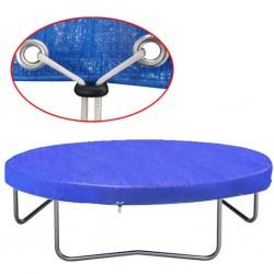 stradeXL Plandeka na trampolinę, PE, 360-367 cm, 90 g/m², 90588