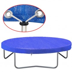 stradeXL Trampoline Cover PE 360-367 cm 90 g/m²