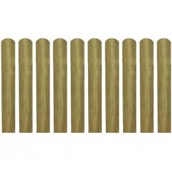 stradeXL 30 impregnowanych sztachet,drewno, 60 cm