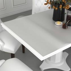 stradeXL Mata ochronna na stół, matowa, 160x90 cm, 2 mm, PVC