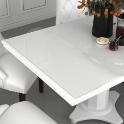 stradeXL Mata ochronna na stół, przezroczysta, 180x90 cm, 2 mm, PVC
