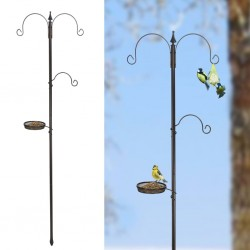 HI Standard Bird Feeding Station Black