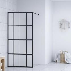 stradeXL Ścianka prysznicowa, szkło hartowane, 90 x 195 cm