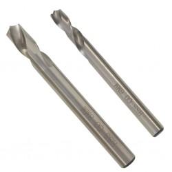 stradeXL 2-częściowy zestaw wierteł do zgrzewów punktowych, stal szybkotnąca kobaltowa, 6/8 mm