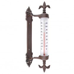 Esschert Design Termometr okienny, żeliwny