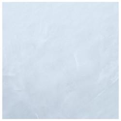 stradeXL Samoprzylepne panele podłogowe, 5,11 m², PVC, biały marmur
