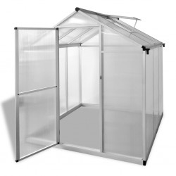stradeXL Greenhouse Reinforced Aluminium 3.46 m²
