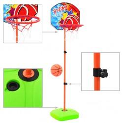 stradeXL Kids' Basketball Hoop and Ball Set