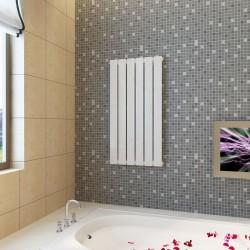 stradeXL Panel grzewczy, kaloryfer, biały, 465 x 900 mm