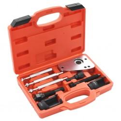 Zestaw narzędzi do demontażu wtrysków w Citroen i Peugeot (9 części)