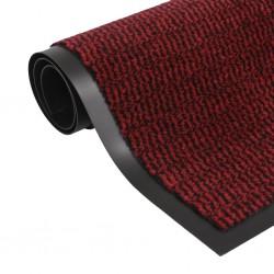 stradeXL Prostokątna wycieraczka przed drzwi 60 x 90 cm, czerwona