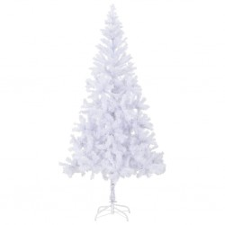 stradeXL Artificial Christmas Tree with Steel Stand 210 cm 910 Branches