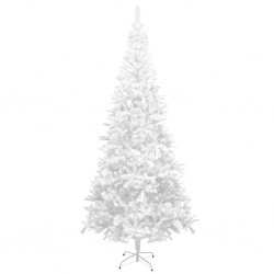 stradeXL Artificial Christmas Tree L 240 cm White