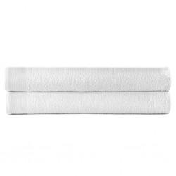 stradeXL Shower Towels 2 pcs Cotton 450 gsm 70x140 cm White