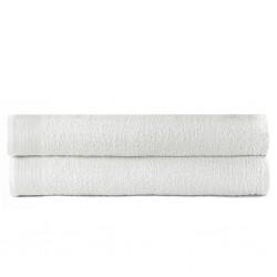 stradeXL Ręczniki kąpielowe, 2 szt, bawełna, 450 g/m², 100x150 cm, białe