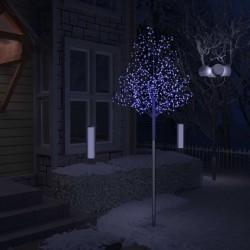 stradeXL Christmas Tree 600 LEDs Blue Light Cherry Blossom 300 cm