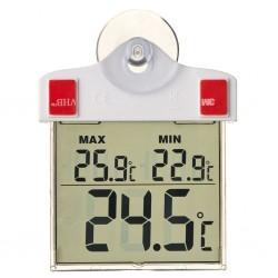 Nature Termometr elektroniczny zaokienny, 13 x 10 x 3 cm, 6080078
