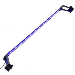stradeXL Lampa LED do akwarium, z zaciskami, 90-105 cm, niebiesko-biała